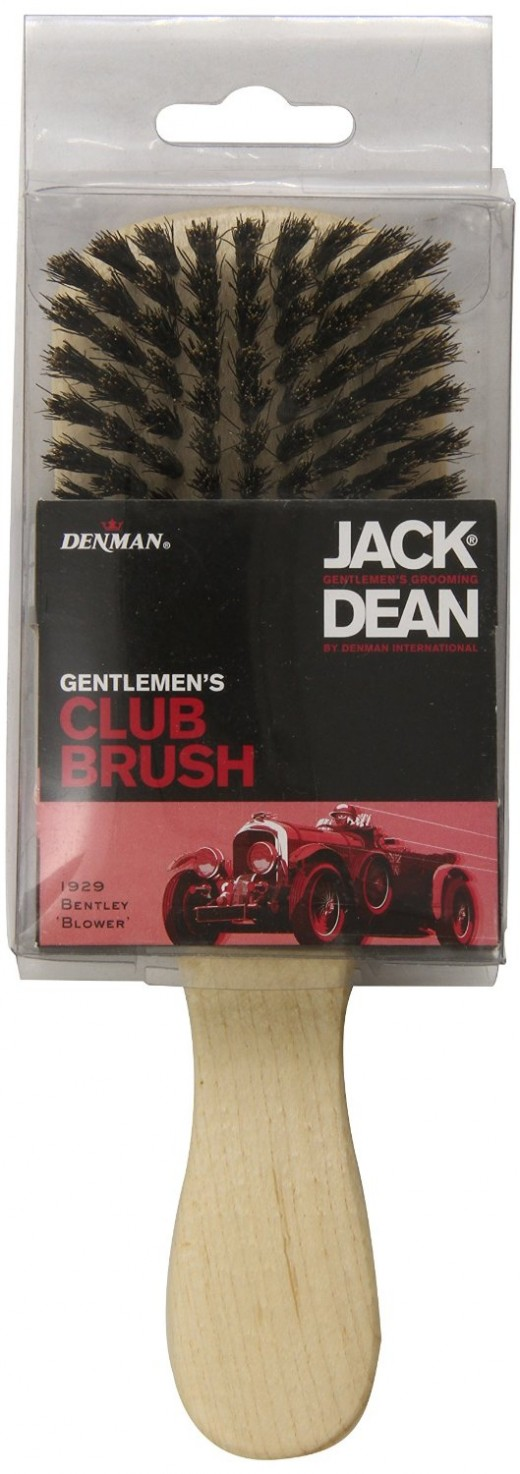 Jack Dean Hair Brush, Club Style
