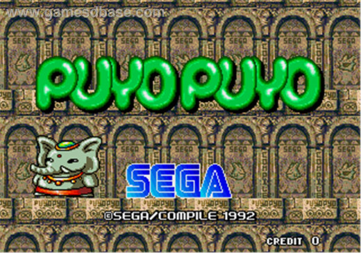Puyo Puyo Title Screen