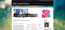 Sample of a Traditional Health & Fitness Blog