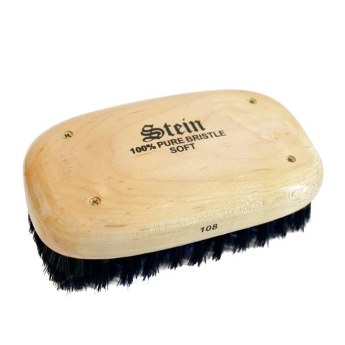 Military Style Square Brush - Soft brush by R.S Stein