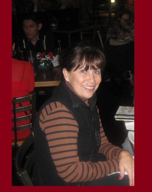 Misti's photogenic  mom Dani Green, owner of, 'Dani's Agency.' Dinning at 'Spices Mediterranean Kitchen'