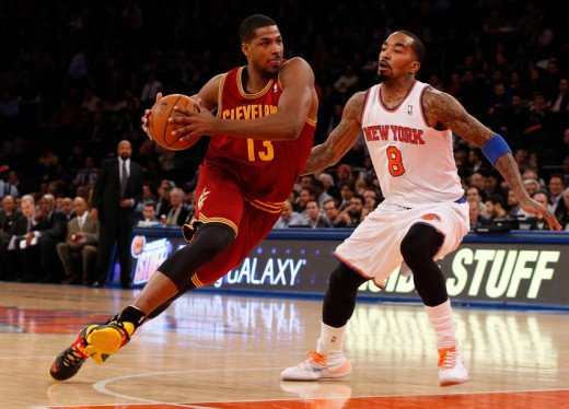 J.R. Smith and Tristan Thompson are now teammates in Cleveland to start the New Year.