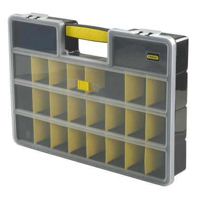Ideal for storing all those small bits; electrical connectors, fuses, screws, jubilee clips, hose clamps, bolts, nuts, washers, raw plugs, welding tips, electrical tape, bits of string etc.