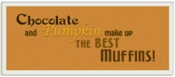 Chocolate Pumpkin Muffins: Nutrition Filled and Cow Milk Free