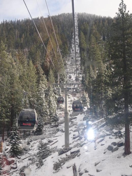 Breathtaking View of Gondola Rides