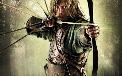 From where he stands near Harold's huscarls, Ivar's friend Hrothulf sees off Norman attackers with his bow. He would not see out the day