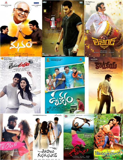 Top Telugu movies 2014