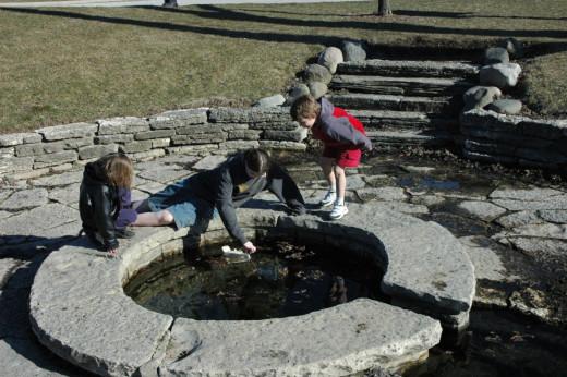 Hobo Springs at Frame Park