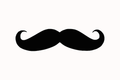 Moustache for Movember : the Men's Health Initiative