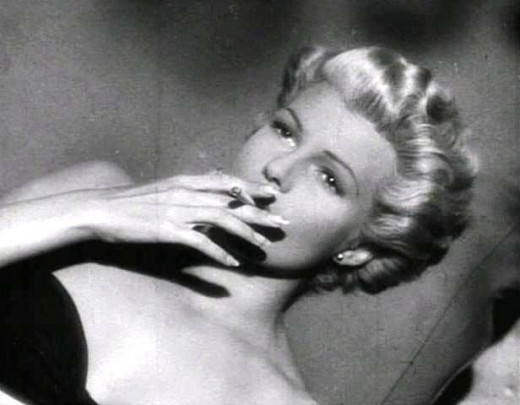 "Rita Hayworth in ""Lady from Shanghai"""