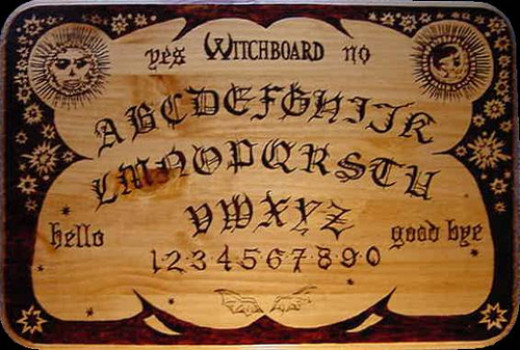 Ouija board has been around for centuries and comes in many styles today