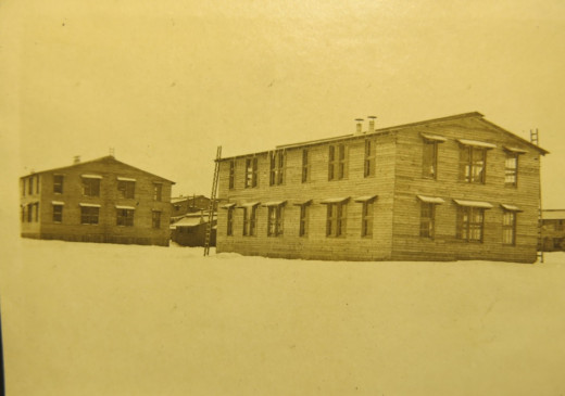 Barracks at Ft. Dix, NJ 1917