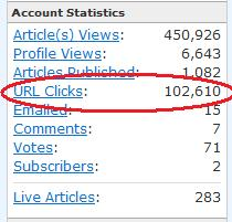 Ezinearticles sends traffic!