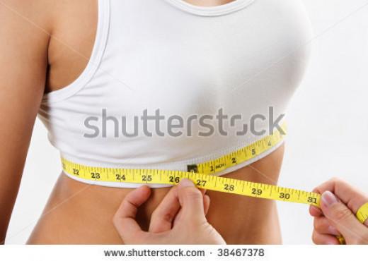 Underbust measurement