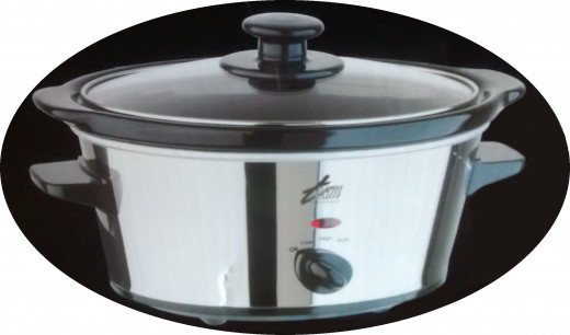 Author's own photo: My first slow cooker.