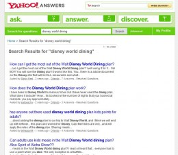 Use Yahoo Answers to find great topics for hubs