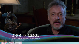 John de Lancie is a huge supporter of My Little Pony and is a proud Brony. More people approach him for voicing Discord then his roles in Star Trek!