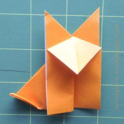 An Origami Fox