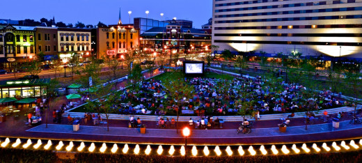 Be sure to visit the Triangle Park website to find out about event and activities planned throughout the year.