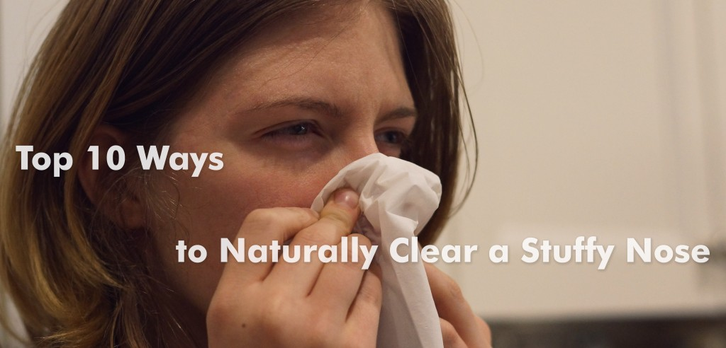 How To Cure A Cough And Stuffy Nose Naturally