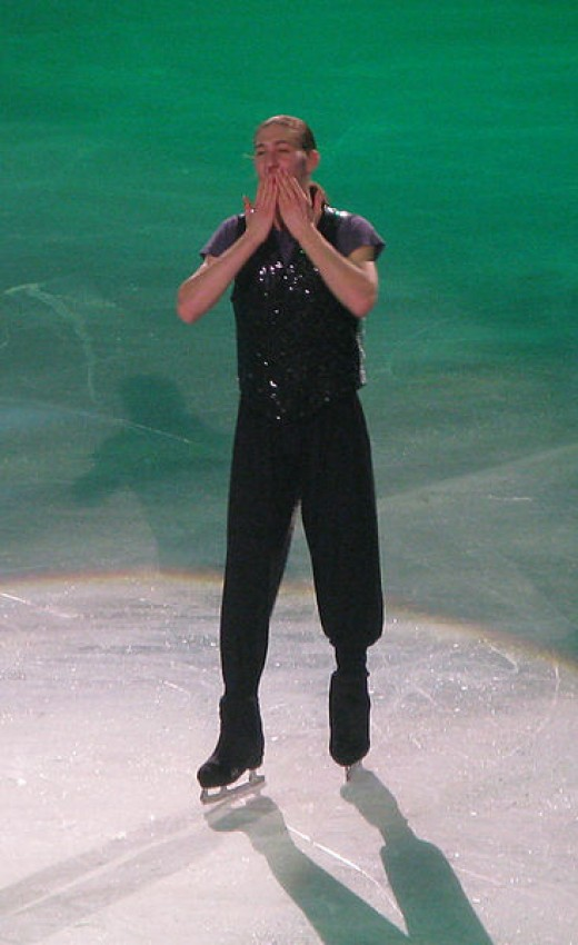 Reigning US Silver Medalist Jason Brown. at the 2013 Trophee Eric Bompard Gala. No copyright infringement is intended. No edits were made. Photo was available under public licence. https://creativecommons.org/licenses/by-sa/3.0/