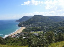 Bald Hill overlooking Stanwell Park