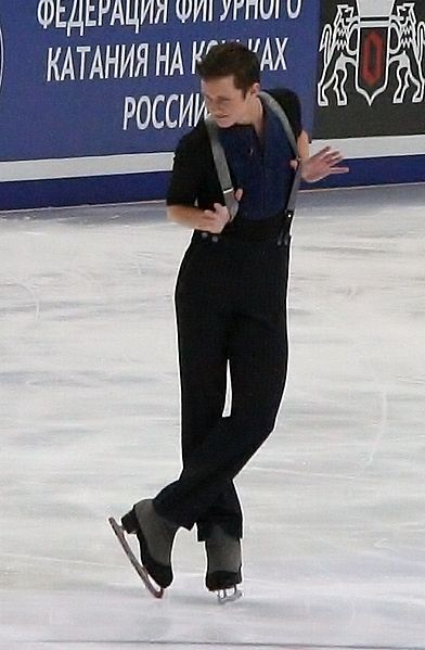 4-time Champ Jeremy Abbott at the 2011 Rostelecom Cup. I do not own this work. No copyright infringement is intended. No edits were made. Photo was available under public licence. https://creativecommons.org/licenses/by-sa/3.0