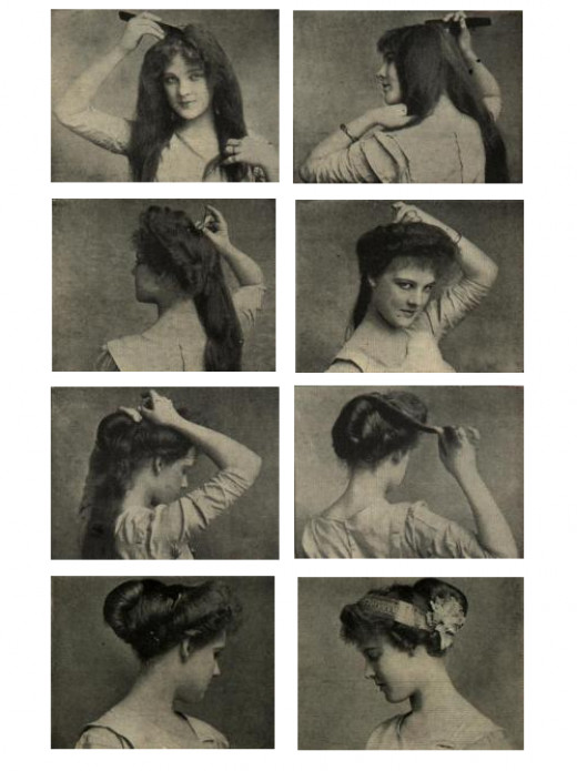 Victorian Era Hair Weave