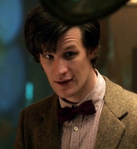 Matt Smith played The Doctor in Doctor Who