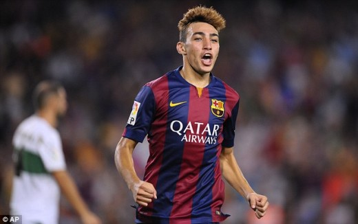 Munir's Barcelona career took off like wildfire