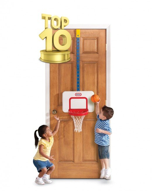 Little Tikes Attach in Play Basketball Set