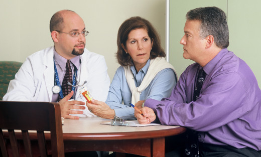 doctor consultation section