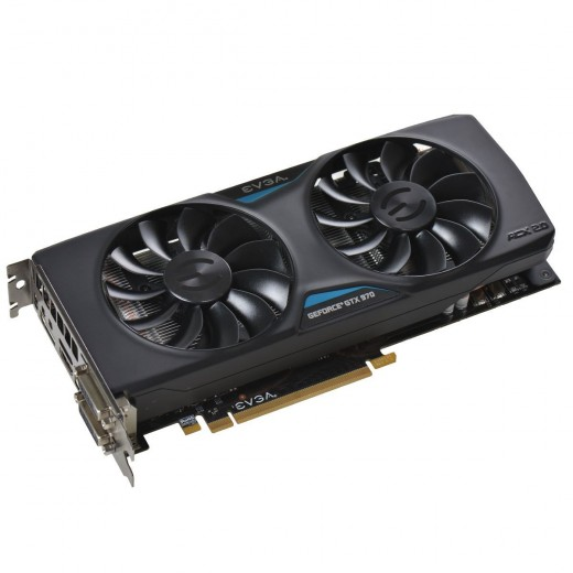 The GTX 970 is my choice of GPU in the under $300 to $400 range.