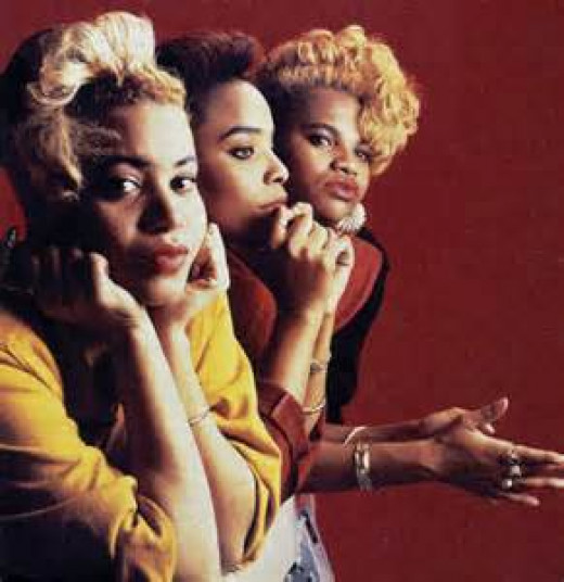 Salt 'N Pepa was a top female hip hop group in the mid to late 1980s. The music they made got lots of radio play.