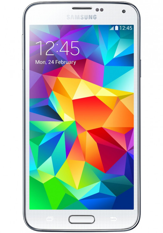 The Samsung Galaxy S5 combines a reliable build type with a fast processor and sleek look.