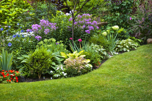 Beautiful lawns gardens and landscapes start with garden design
