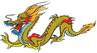 The Chinese dragon is considered a symbol of good luck.