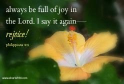 Joy means Jesus (Christian poem)