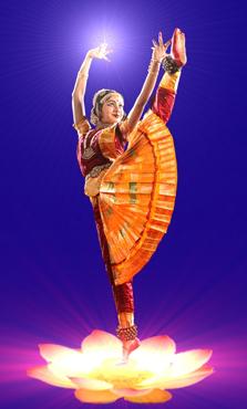 Dancer Medha Hari's elegant pose