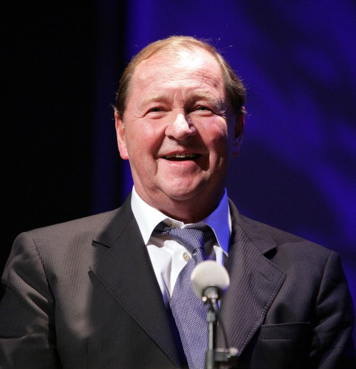 Roy Andersson at  The Nordic Council Film Prize awards in 2008