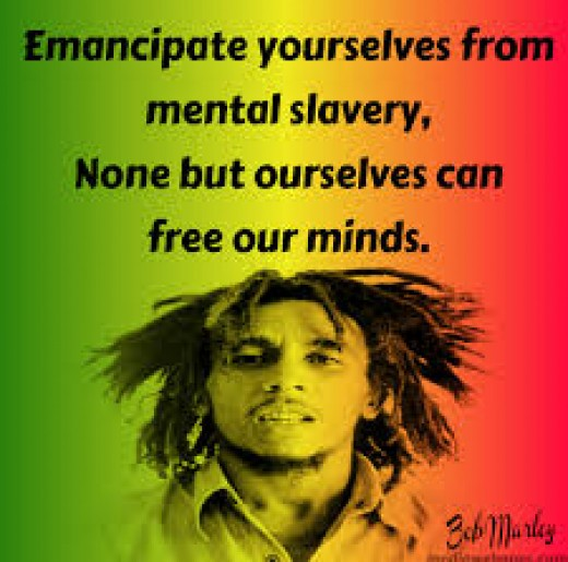 Famous quote from Marley's Redemption Song