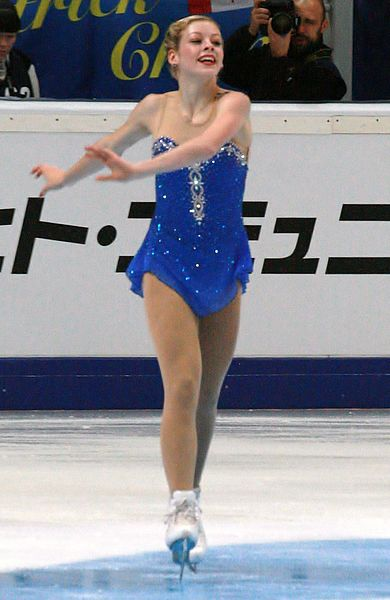 Gracie Gold at the 2012 Rostelecom Cup.  I don't own this pic. No copyright infringement is intended. No edits made. Used via: https://creativecommons.org/licenses/by-sa/3.0/