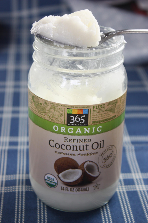 Add coconut oil to coffee