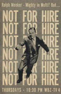 """Not For Hire"" ad"