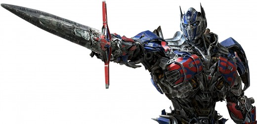 Optimus Prime with Gigantic Broadsword