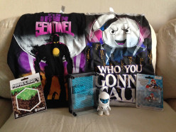A Nerdy Summer - Review of June, July and August 2014 Nerd Blocks