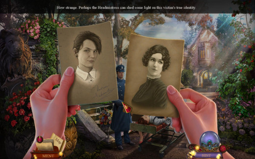 Marion's mother gave you photo of real Marion, and she's nothing like the dead impostor.