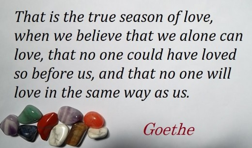 Ode to love by Goethe