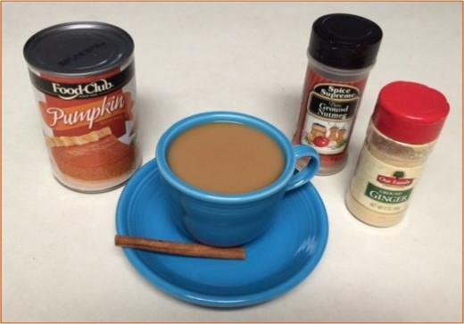 Make a pumpkin spice latte at home
