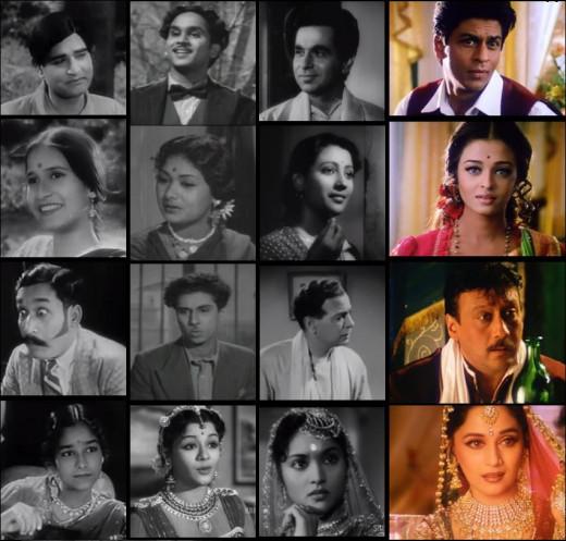 Different versions of Devdas